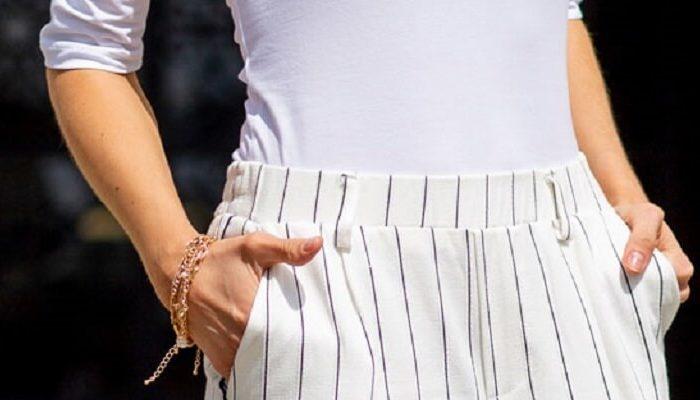 Białe ubrania damskie