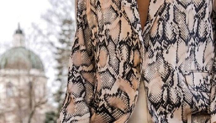 Damskie ubrania we wzory zwierzęce hurtowo