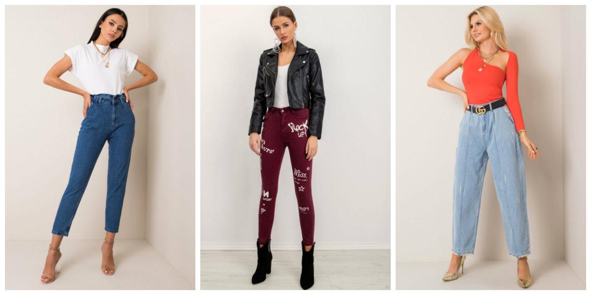 jeansy damskie hurtowo