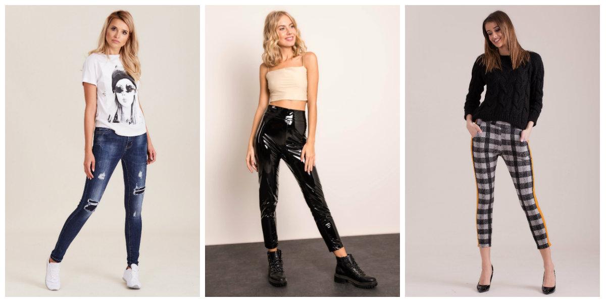 Modne spodnie damskie hurtowo
