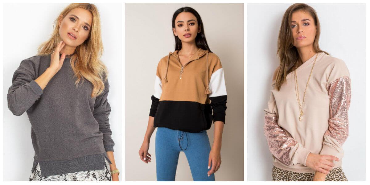Najwygodniejsze bluzy damskie