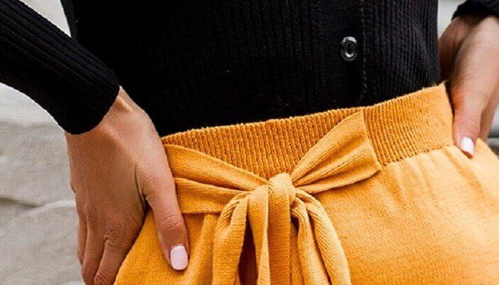 Gorący trend: spódnice z wiązaniem