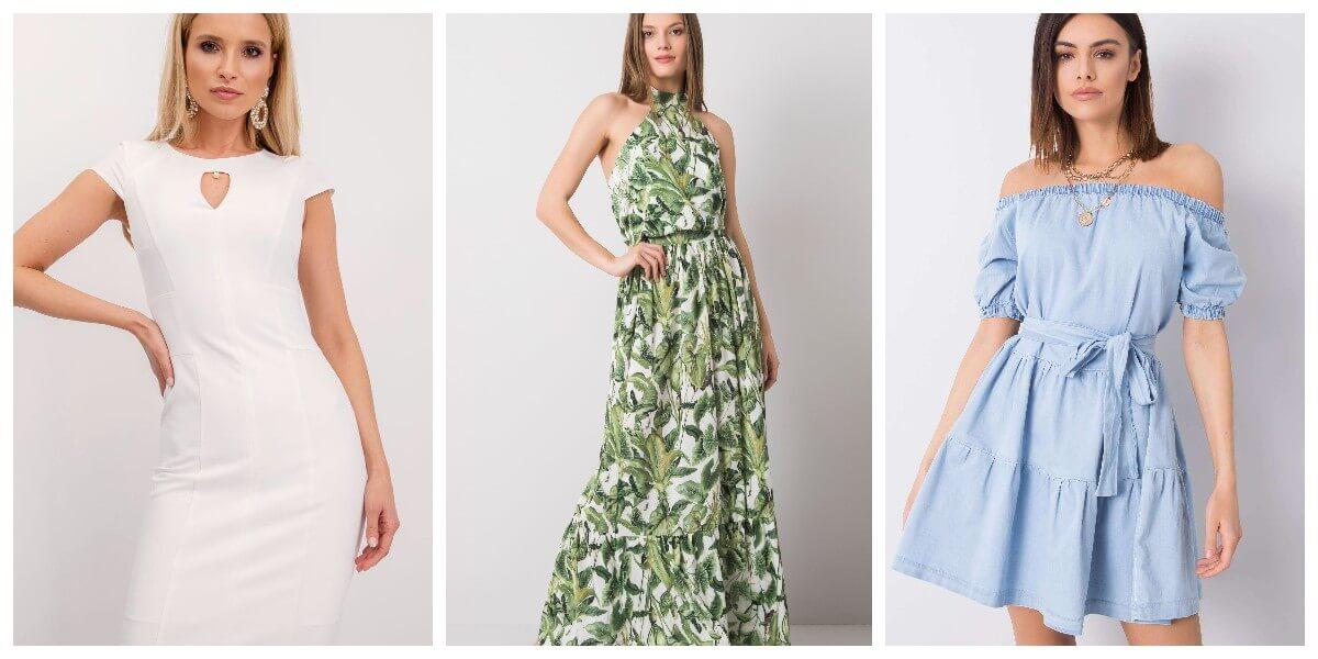 Sukienki na lato hurtowo