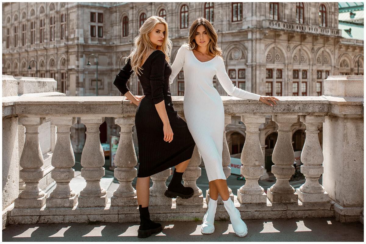 Zwroty w hurtowni online Warszawa - sukienki basic